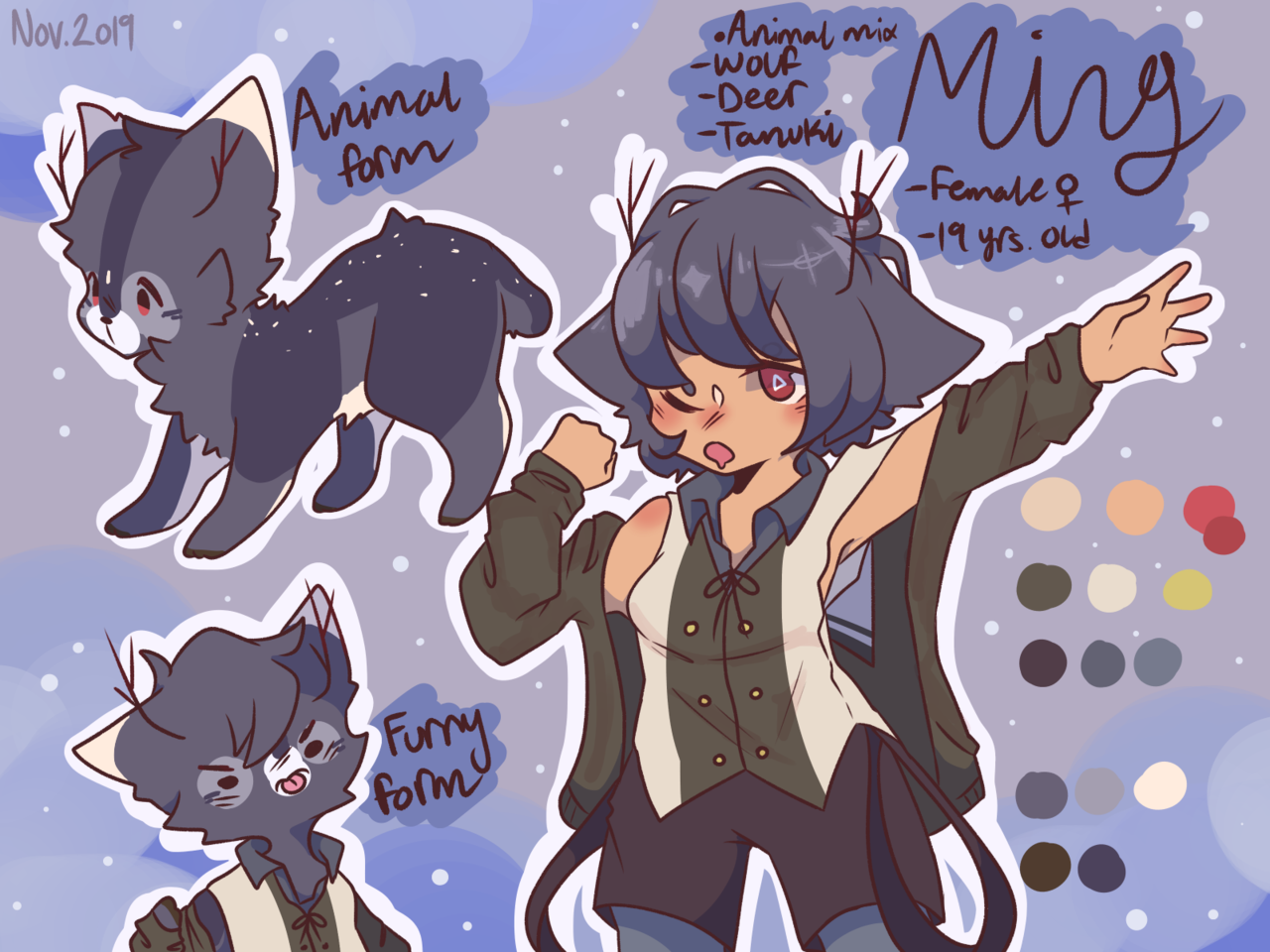 Ming (Character Ref)