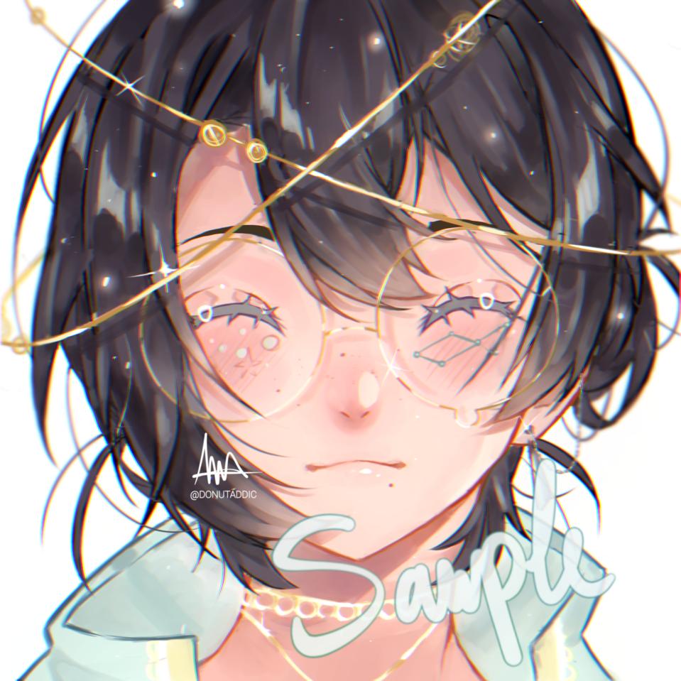 Vega Illust of DonutAddic anime painting animeboy kawaii digital illustration constellation star oc
