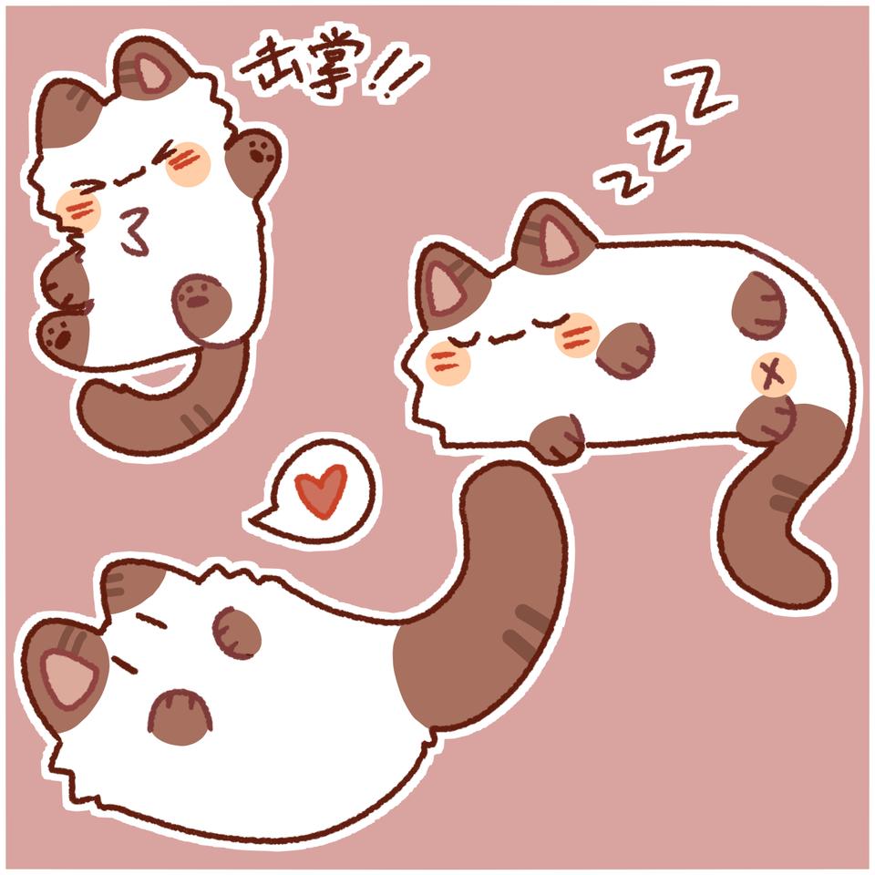 猫猫 Illust of 九阳 medibangpaint