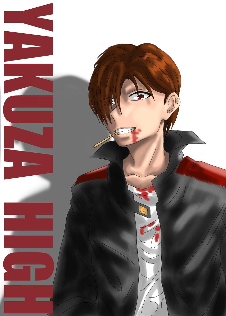 New character design. Illust of Yuri Black Zero character painting design medibangpaint illustration boy