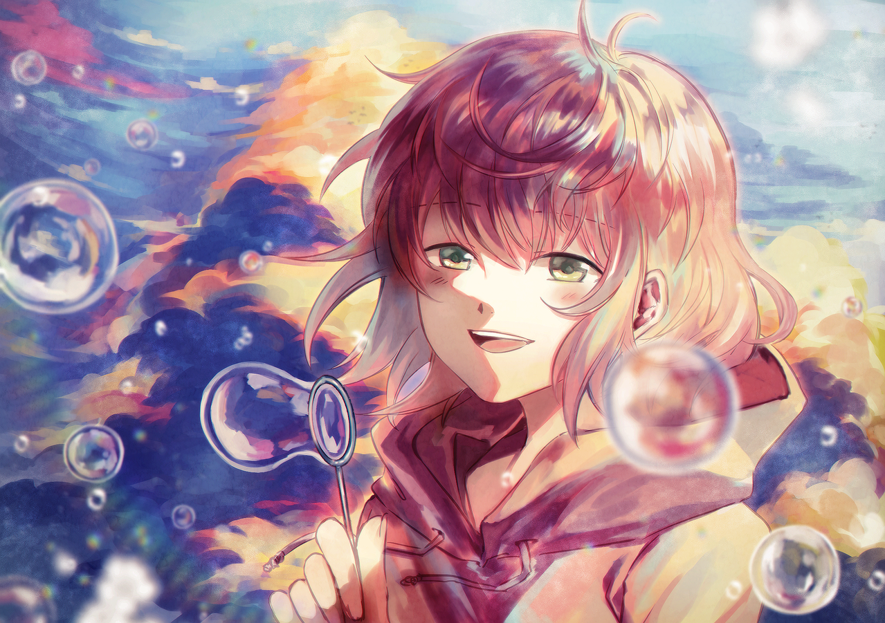 Colorful Daydreaming Illust of Neian ARTstreet_Ranking シャボン玉 illustration original