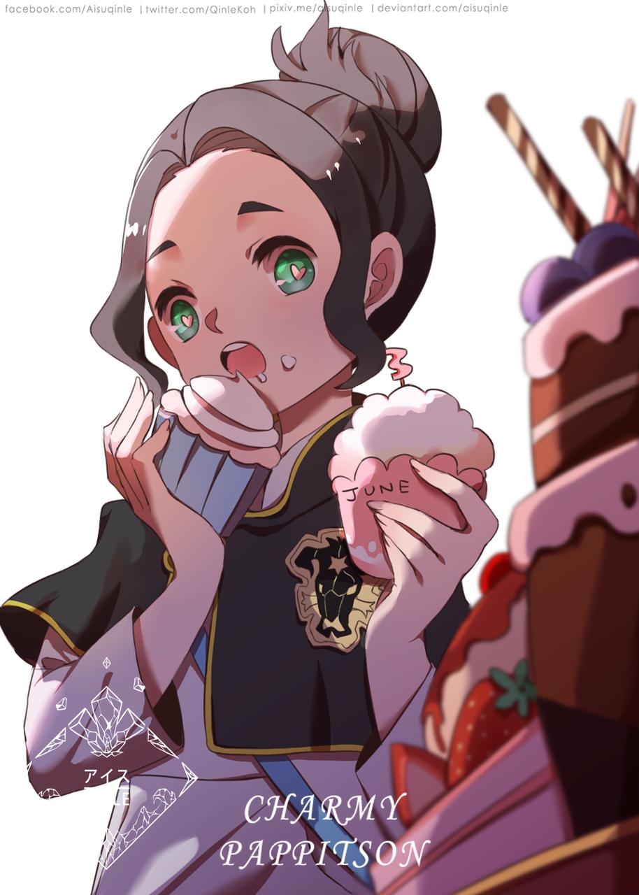 Charmy Illust of QinLe food girl charmy おやつ anime チャーミー・パピットソン生誕祭2020 BlackClover