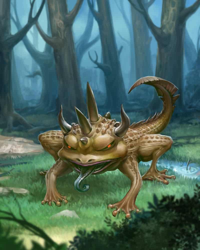 邪恶の蛙 Illust of SamChanART samchanart