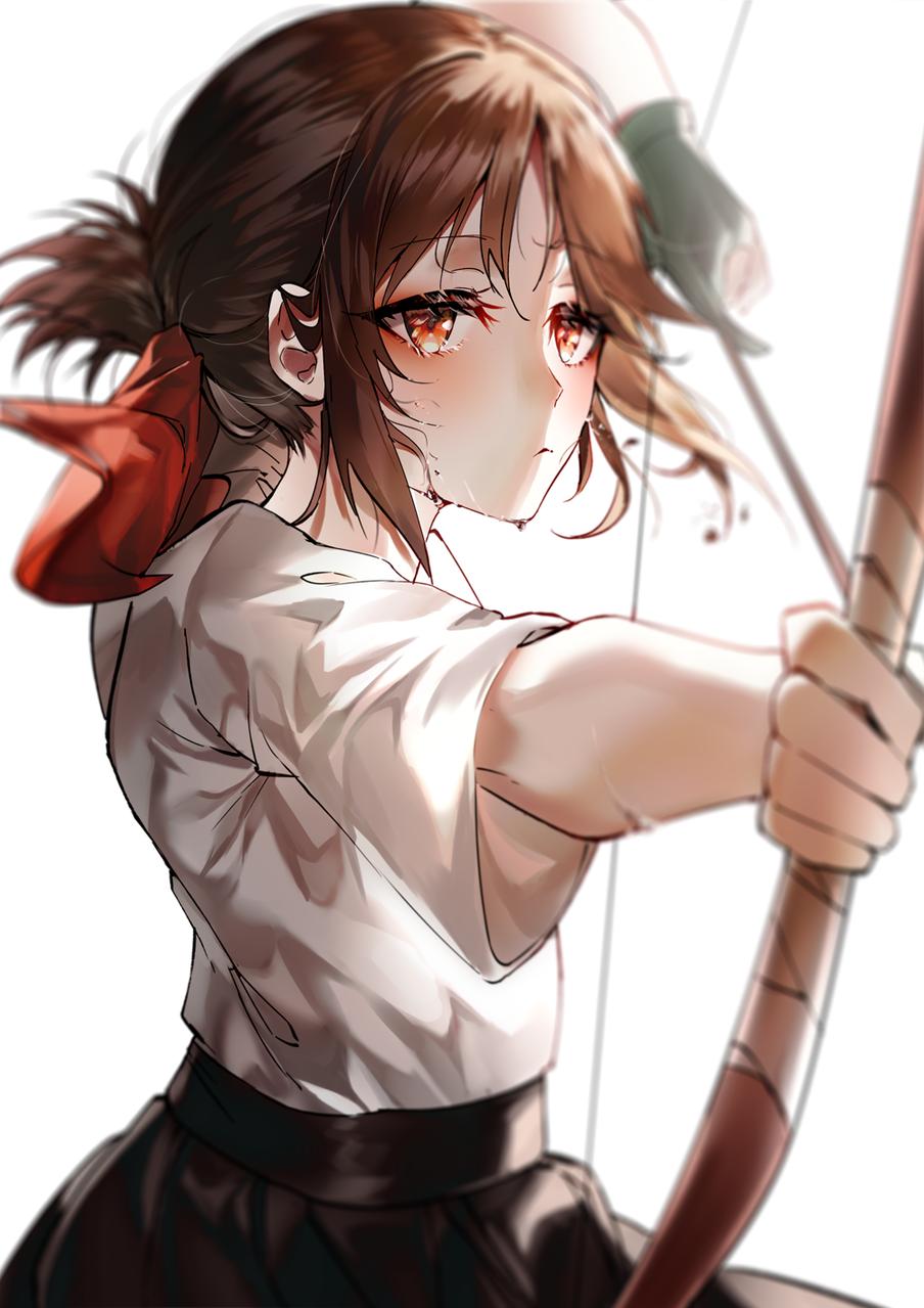 kaguya Illust of yaneart 弓道 弓 弓道女子 bow Kaguya-sama:LoveIsWar
