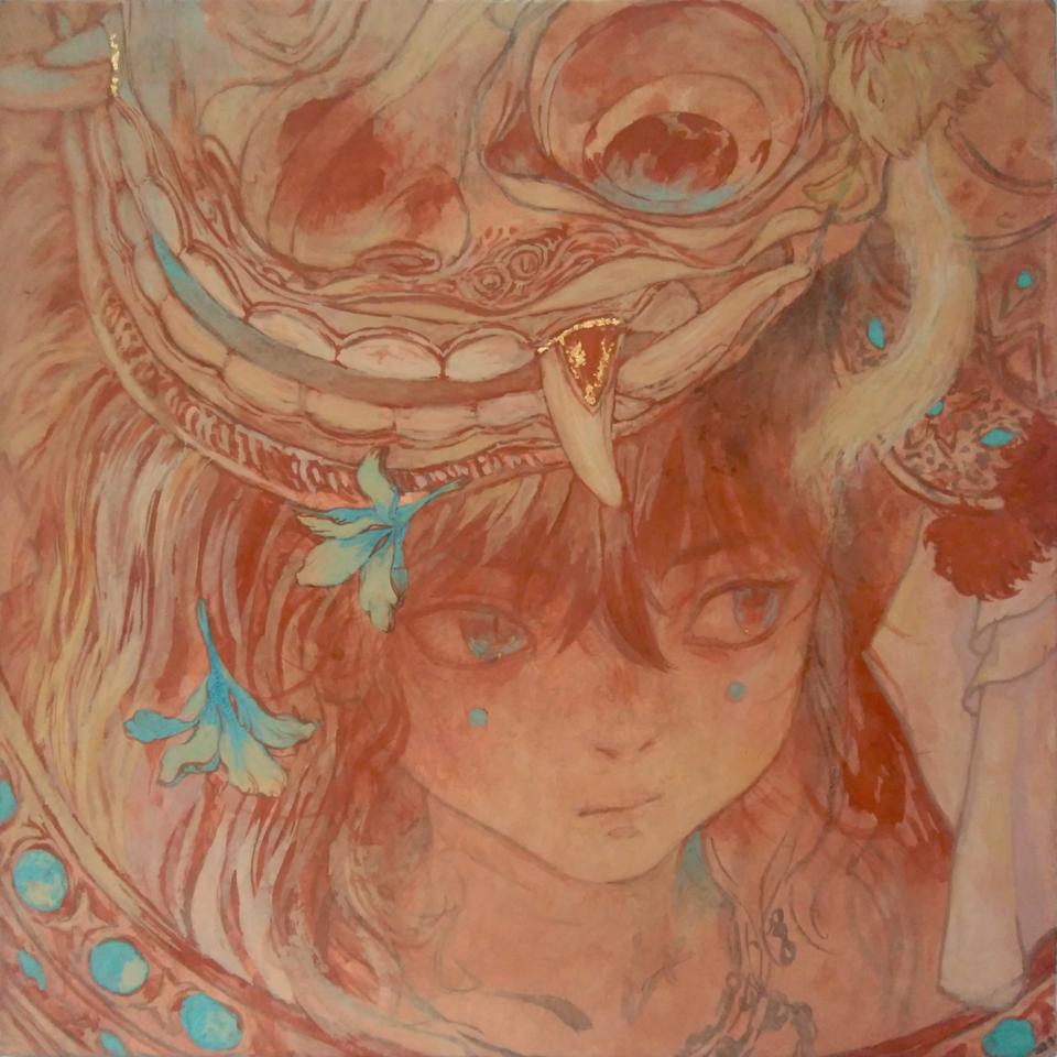 バロン Illust of 倉敷藤花 日本画 アナログ original