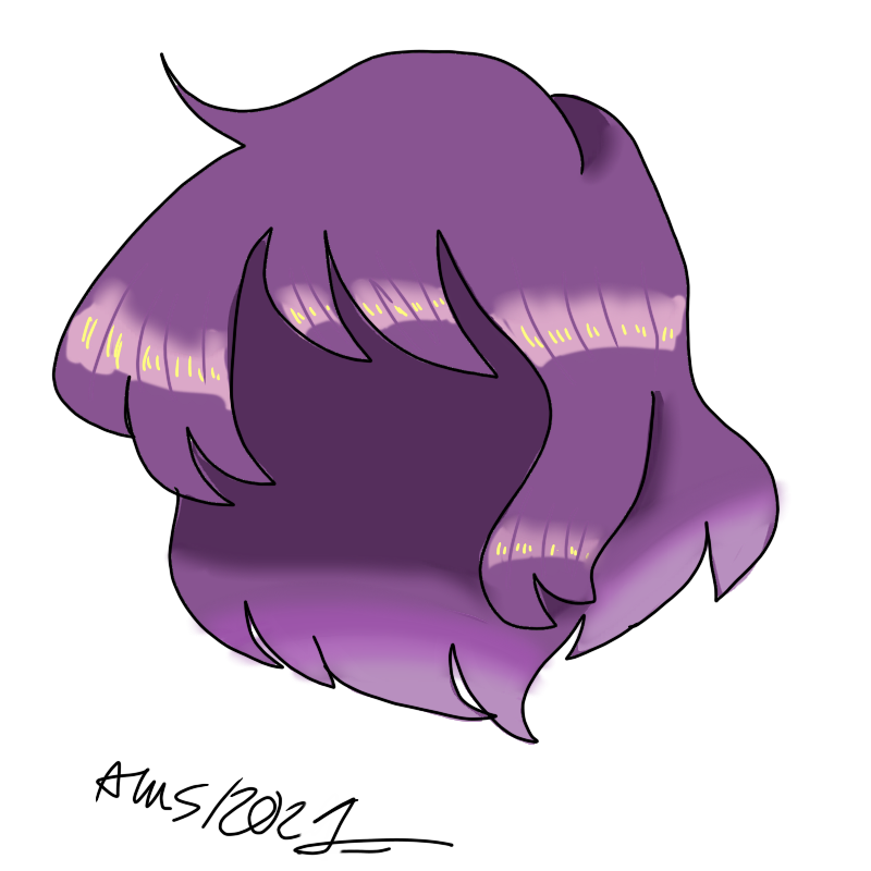 hair practice Illust of ali-chi   Alus uwu (Fundy Mode) practice hair