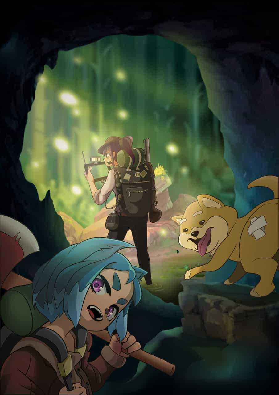 Journey Illust of RD September2020_Contest:Furry ShibaInu anime 獸耳娘 獸耳