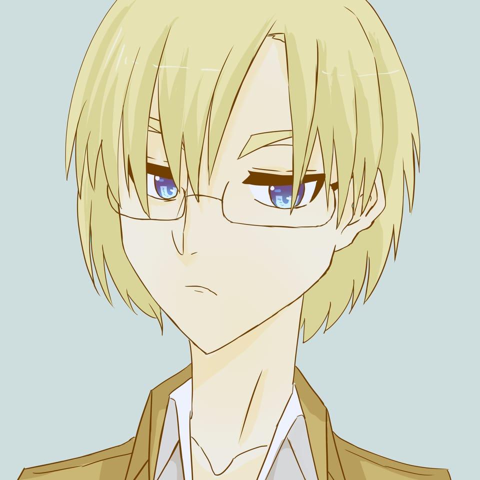 たらくんからのリクエスト! Illust of おみそ#田舎同盟 CLIPSTUDIOPAINT girl リコ blonde glasses fanart AttackonTitan illustration