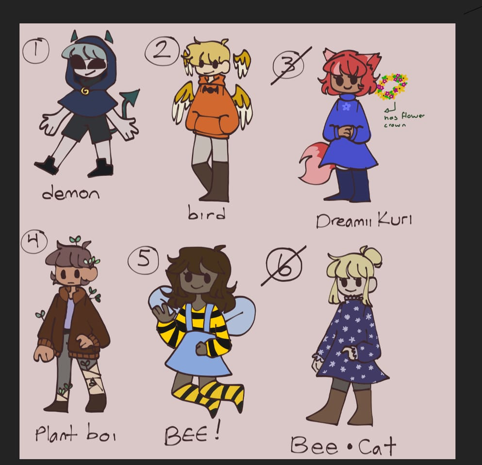 ADOPTS INFO IN DESC Illust of Rainey 404 Adopts 1stCome1stServe