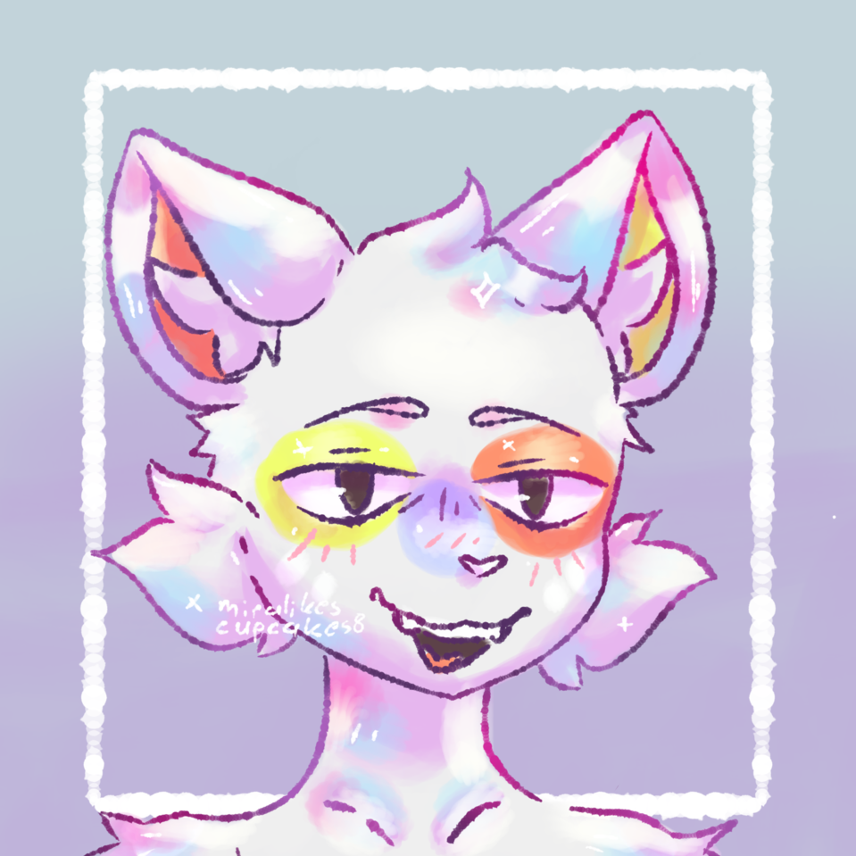 Requested by A_Zig Illust of ☆miralikescupcakes8☆ Fluffy request IbisPaintX furry Miralikescupcakes8