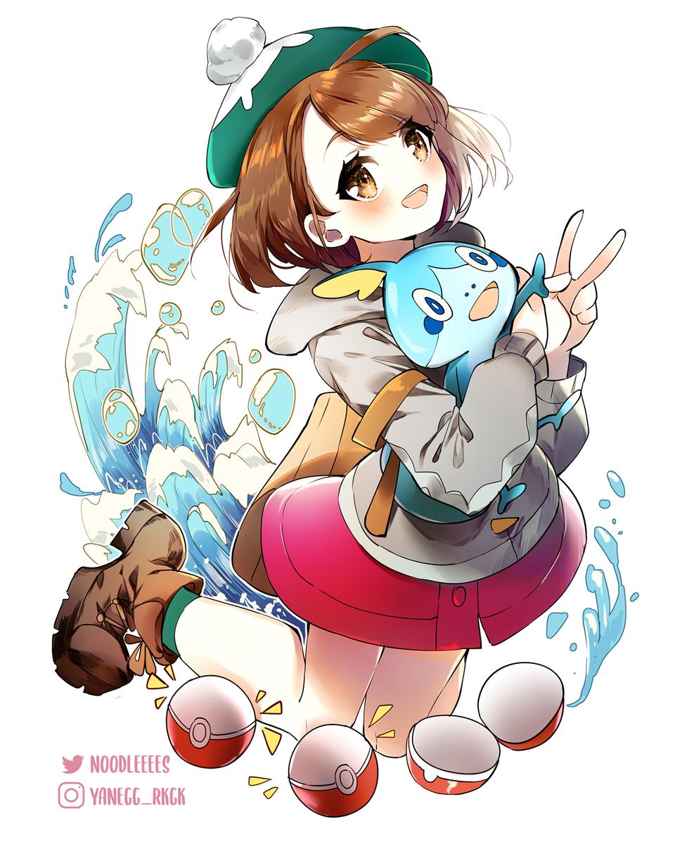 Pokemon Illust of yaneart swordandshield game pokemon