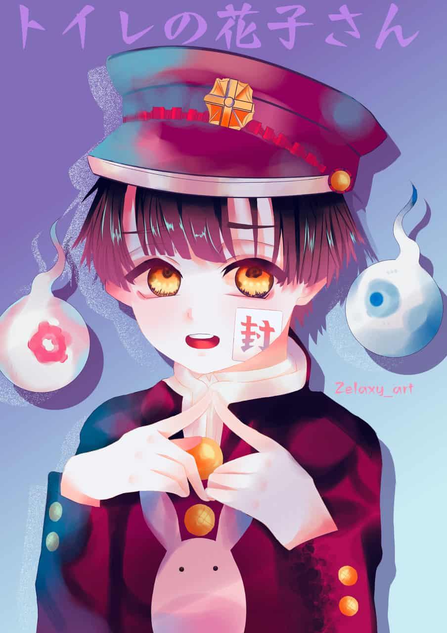 Toilet bound Hanako kun - 地縛少年花子くん  Illust of Zelaxy_art Toilet-boundHanako-kun medibangpaint yugiamane 花子くん