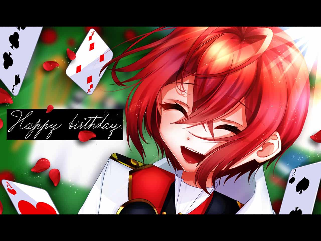 \Happy Birthday!!/ Illust of Lisa Twisted-Wonderland RiddleRosehearts