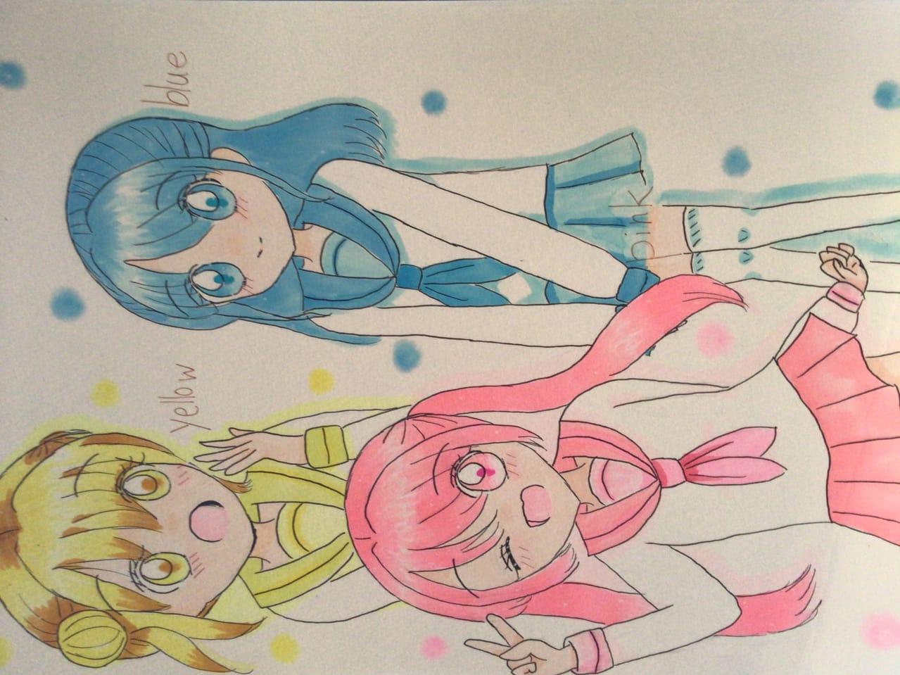 初とーこー! Illust of 宇佐葵 月歌 girl sailor_uniform