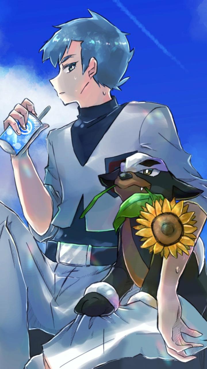 【Pokemon】Archer & Houndour Illust of NGO medibangpaint デルビル アポロ(ポケモン) pokemon