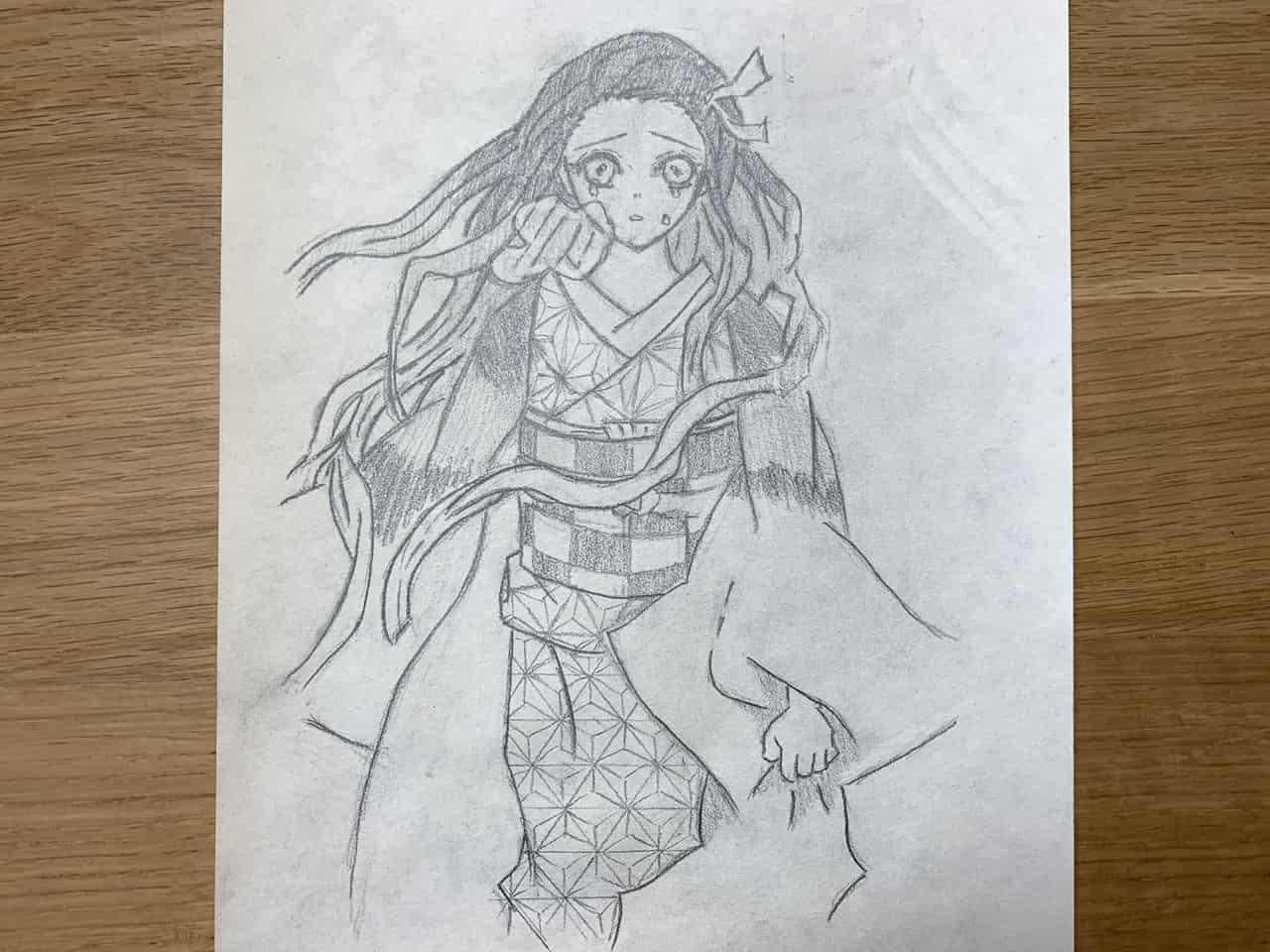 鬼滅の刃 竈門禰豆子 えんぴつ Illust of 那輝和 DemonSlayerFanartContest KimetsunoYaiba
