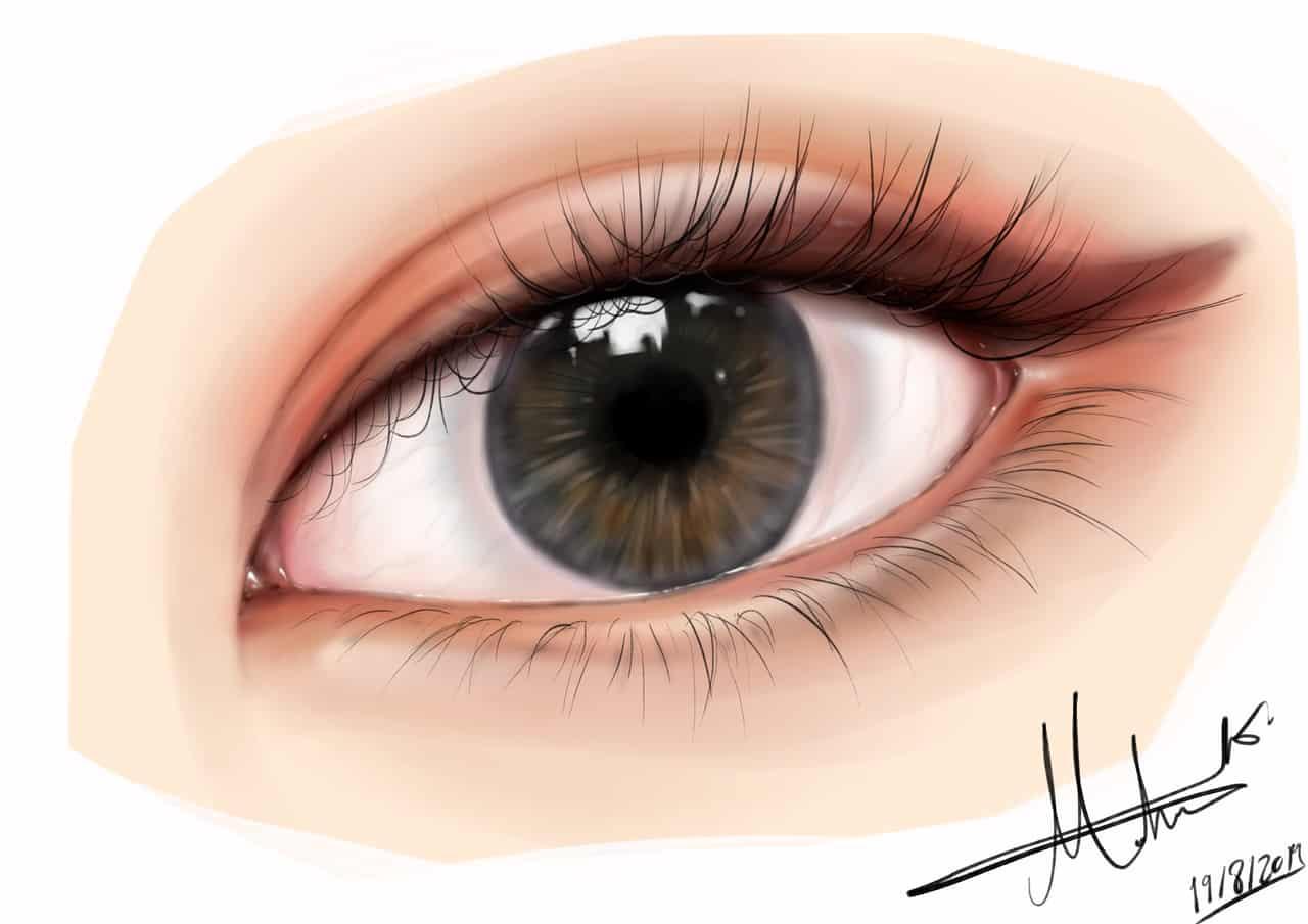 👀 Illust of Maha eyes リアル絵