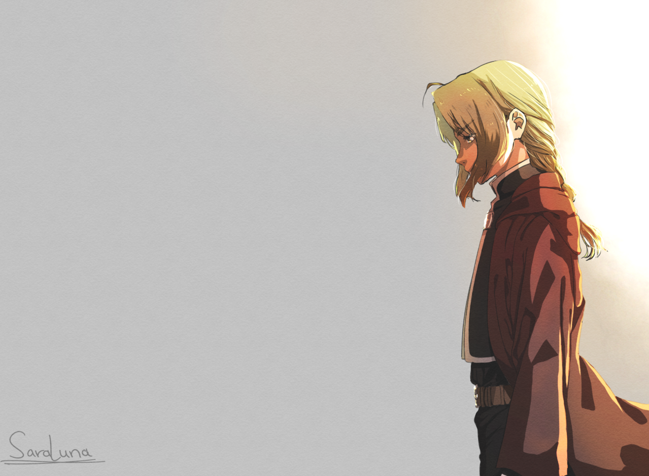 Edward Elric Illust of SaraLuna02 FULLMETALALCHEMIST anime boy