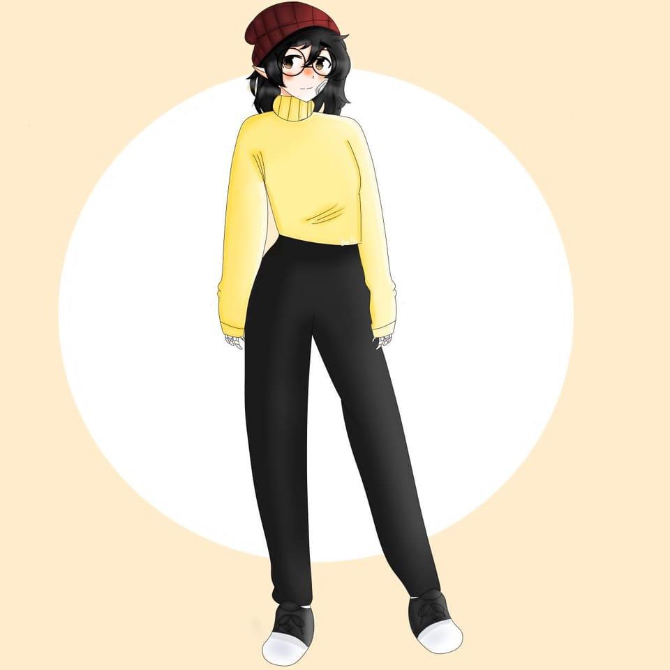 Wilbur Cosplay :) Illust of ꜱᴀᴘᴘʏʙᴇʟʟᴀ • ꜱᴀᴘɴᴀᴘ ᴍᴏᴅᴇ©️ red WilburSoot anime Bella Cosplay MCYT yellow DreamSMP :) Beanie
