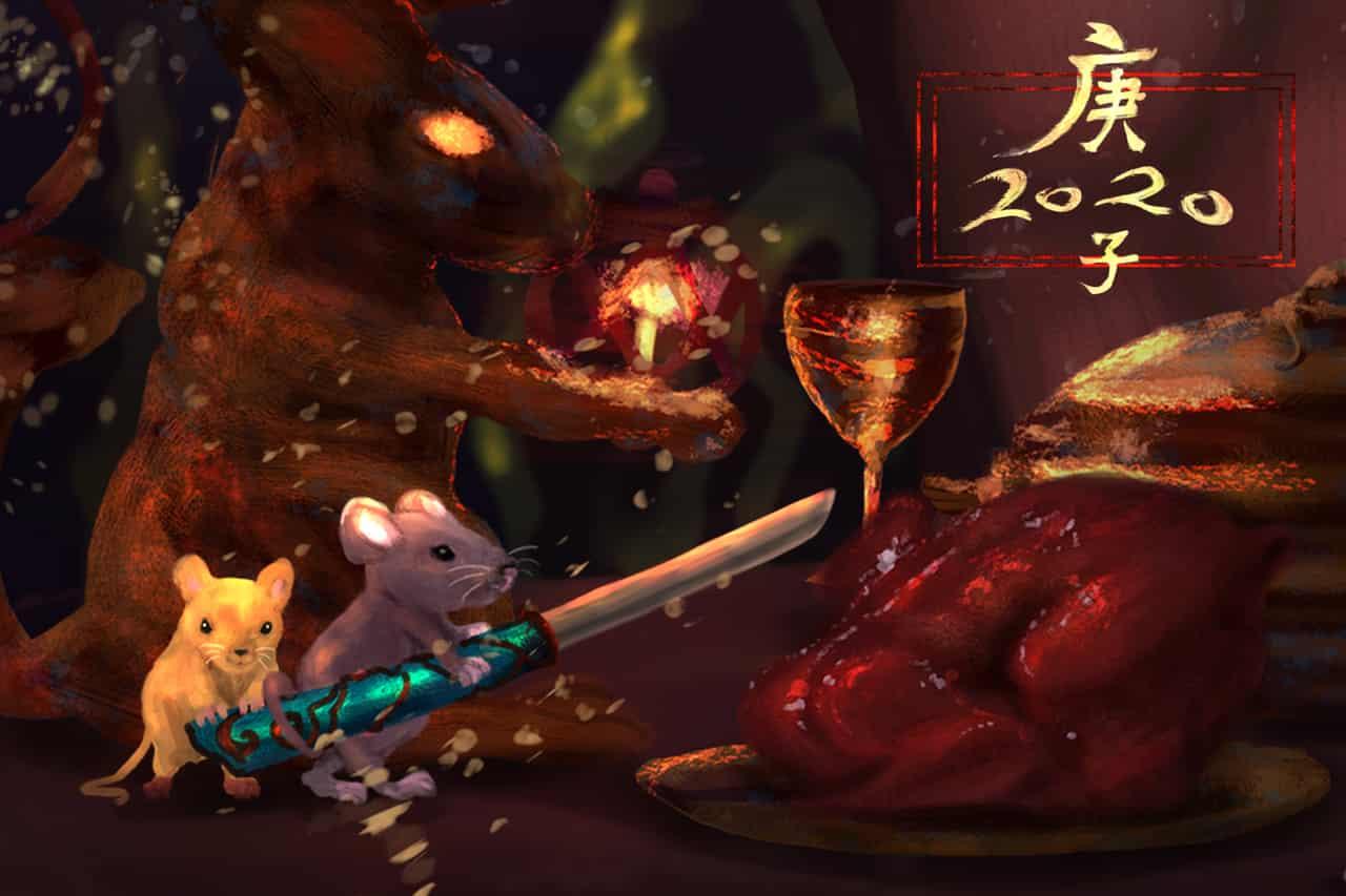 The year of Rat~鼠肖吃雞