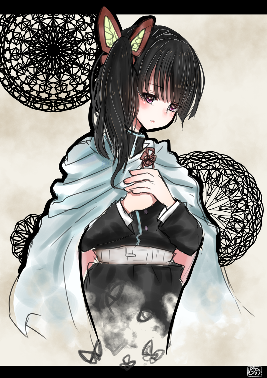 心に抱く Illust of nora DemonSlayerFanartContest TsuyuriKanao girl KimetsunoYaiba