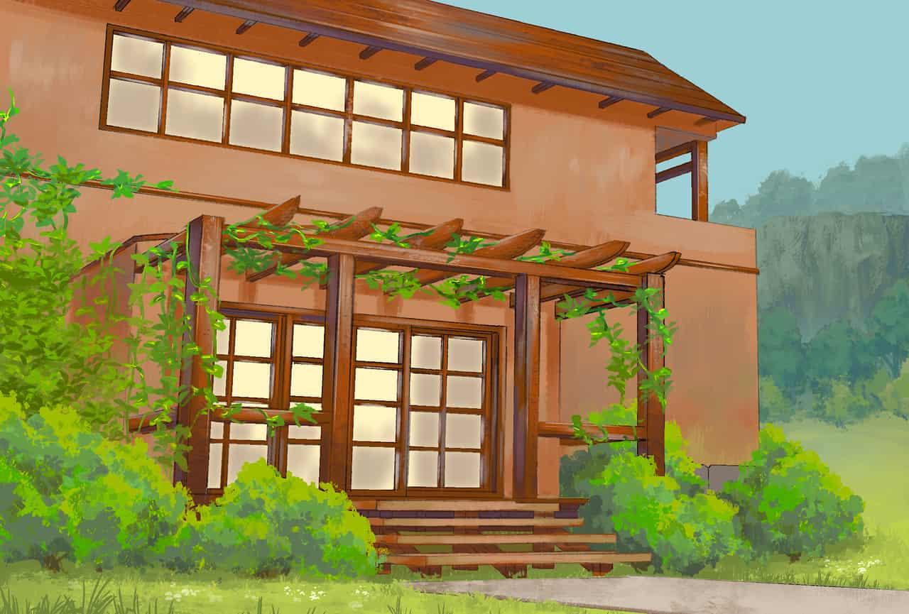 Buttermilk Bathhouse Illust of Pai Post_Multiple_Images_Contest bath anime background
