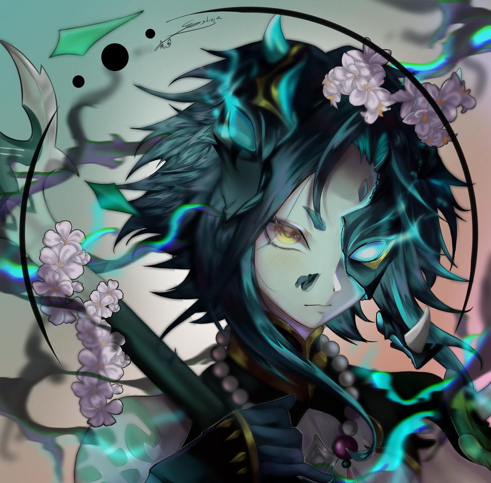 Xiao  (Genshin Impact) Illust of Estigia medibangpaint GenshinImpact Xiao