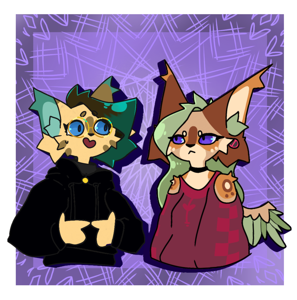 read the desc if you want to see nonsense in words Illust of 💚beans💙 ugh oc furry