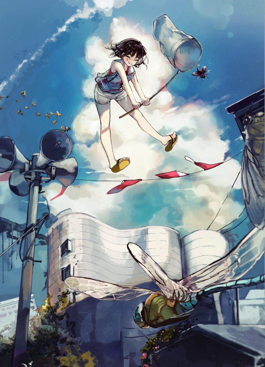 夏よ来い Illust of 無味無常 oc girl summer