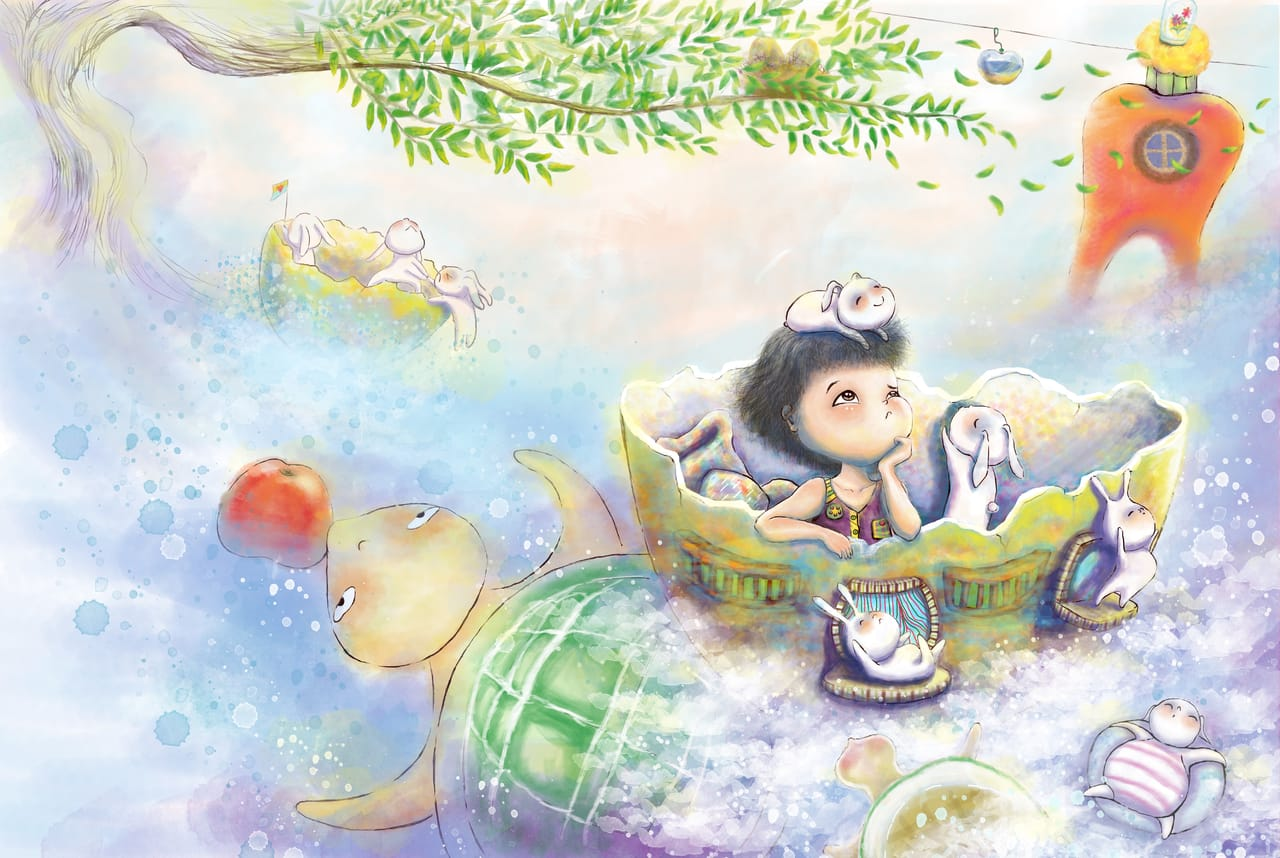 Happy Land樂園 Illust of Vicky ART_street_Illustration_Book_Contest
