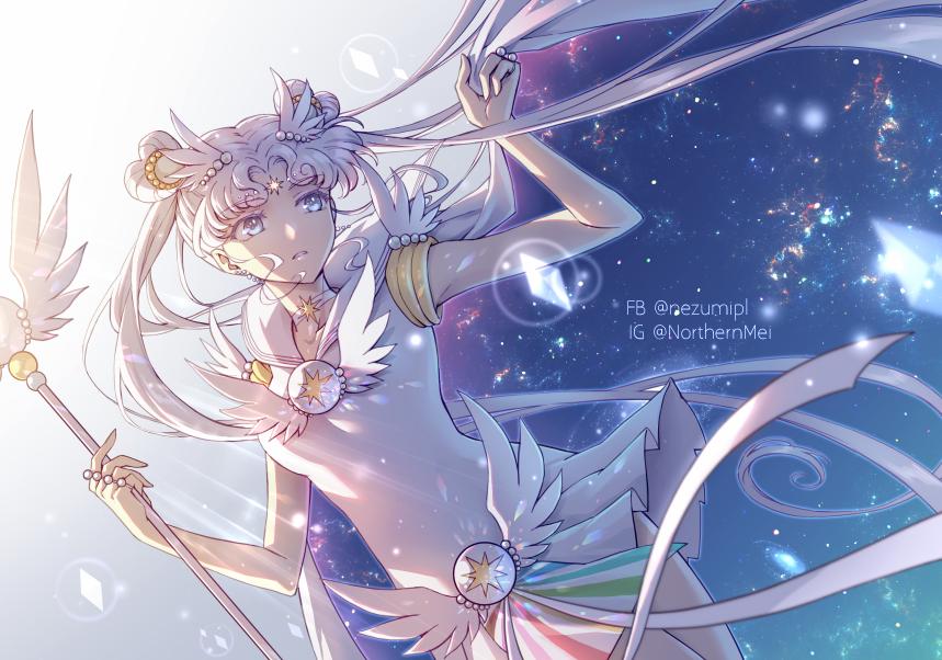 Cosmos Illust of 仙梅 sailorcosmos girl PrettyGuardianSailorMoon