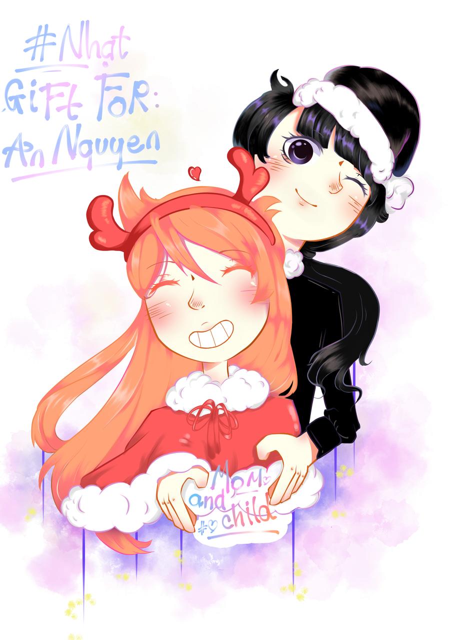 Late Christmas gift - Yuki Yumi   Illustrations - MediBang