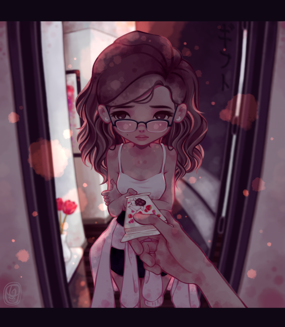 • ギフト • Illust of Onali art Drawings drawing kawaii digital original illustration Artwork oc cute