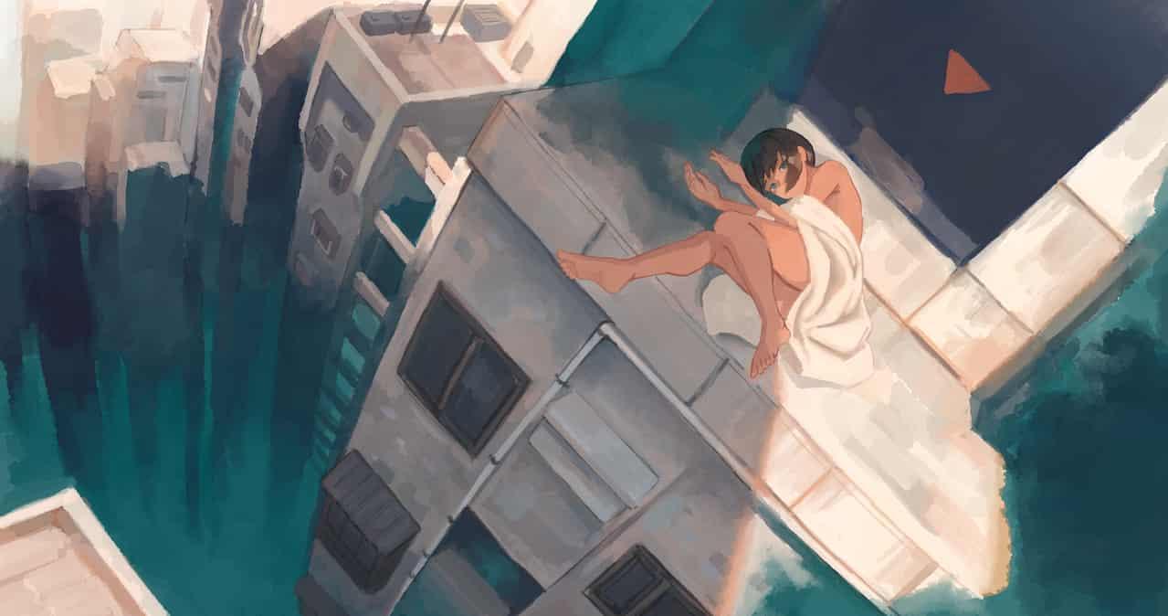 曬太陽 Illust of OTHERS 高層ビル girl woman