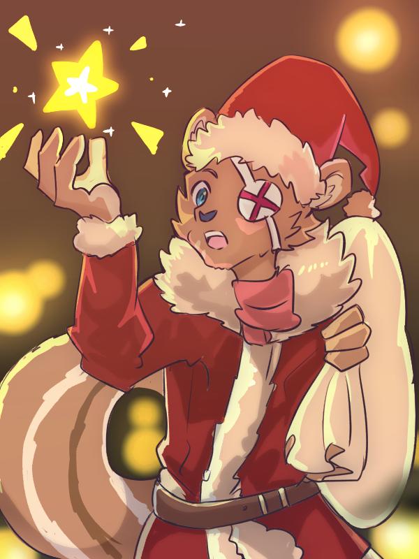 星 Illust of 肯尼吉 December2020_Contest:Santa Christmas furry winter 獸人