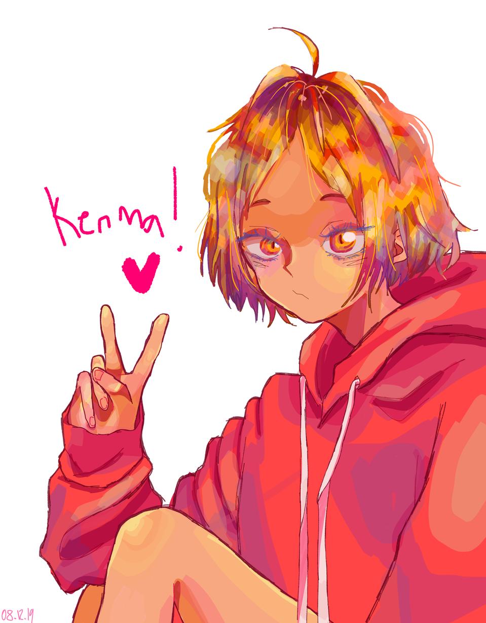 kenma Illust of sizzu86 medibangpaint anime Haikyu!! art kenma