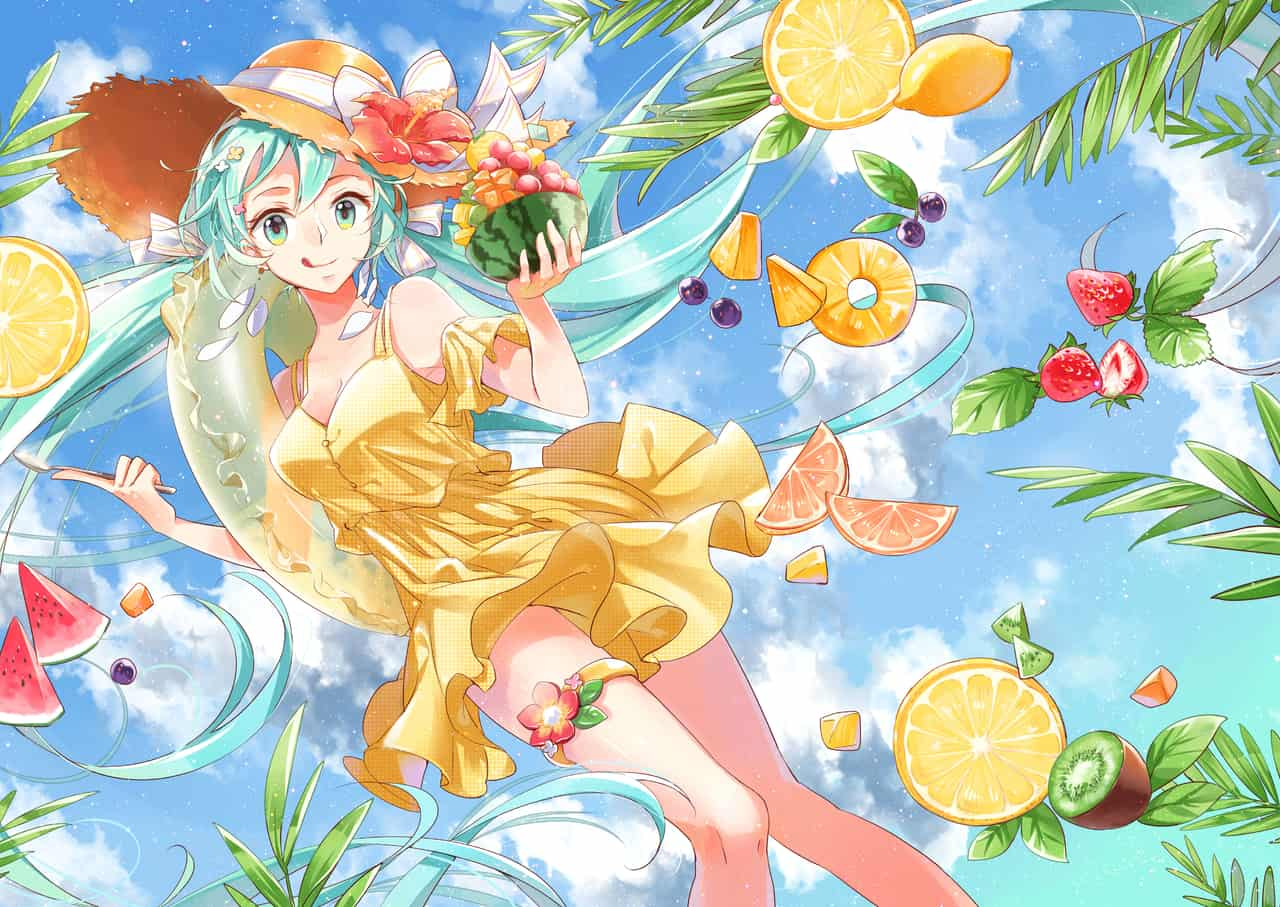 Mon Vayage Illust of monmon511312 VOCALOID girl miku hatsunemiku