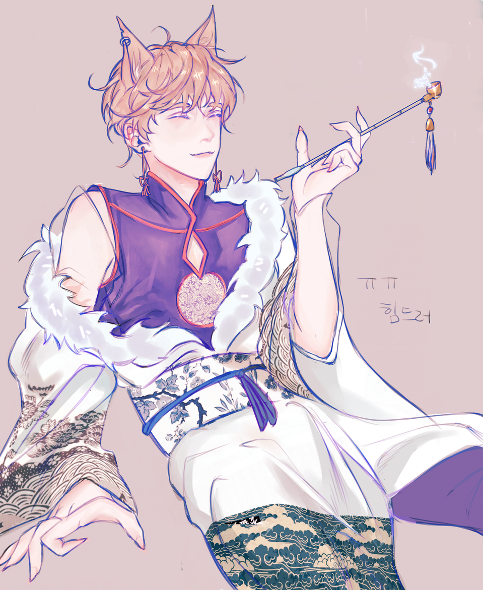여우신 걔 의복