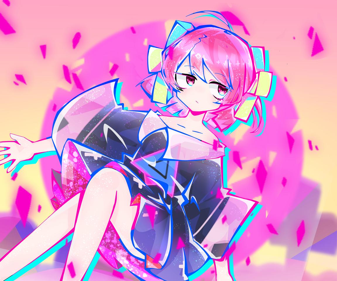 Ghost Dance里的小女孩 Illust of 瓦尔希 Kyoto_Award2020_illustration medibangpaint ghostdance 寺田てら