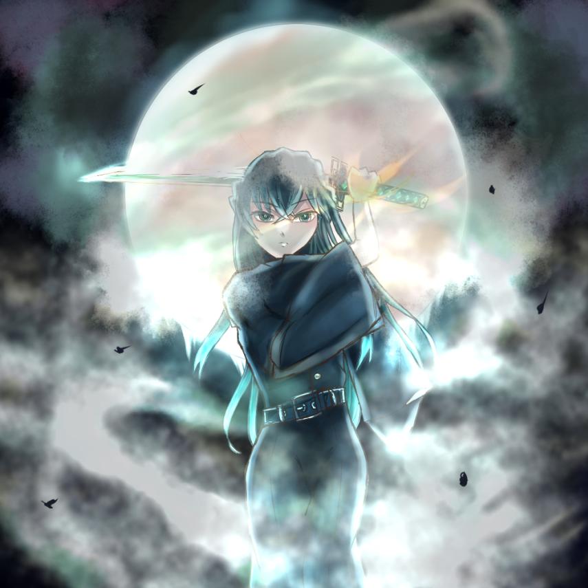 Illust of hanatuzi DemonSlayerFanartContest KimetsunoYaiba TokitouMuichirou