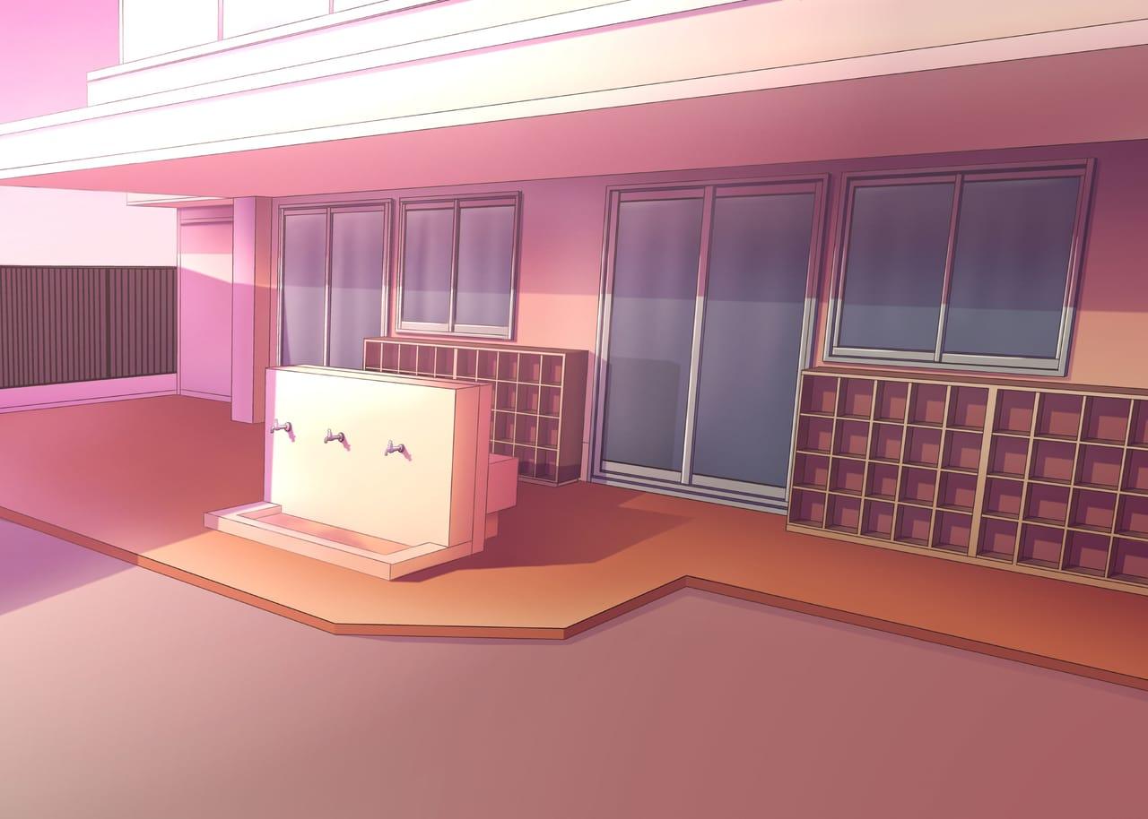 Beginner Coloring Background Image Illust of Yukka school BackgroundImageContest_Coloring_Division Background_Image_Contest medibangpaint illustration beginner color manga