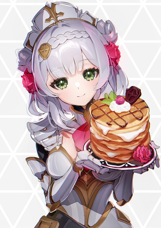 ノーエールーーーー Illust of がりぼー ノエル maid パンケーキ girl GenshinImpact
