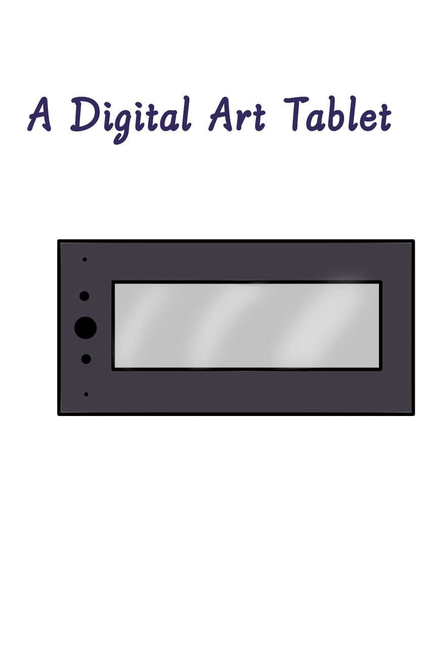 A Digital Art Tablet  Illust of {Boba Leaf}🌿 giftyouwant2020 giftyouwant2020:30000YenGift cute tablet