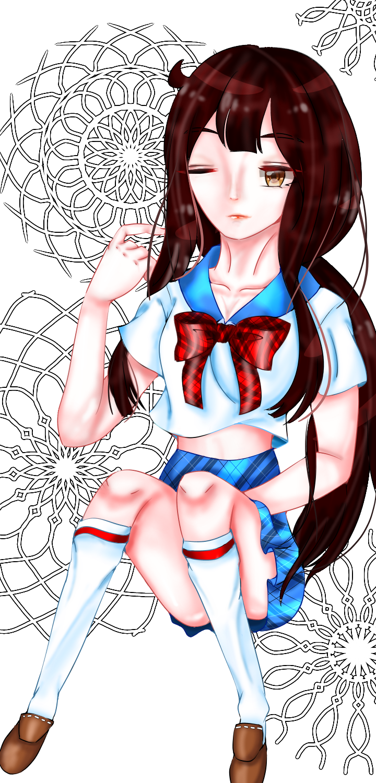 세라복소녀 Illust of Parksy010403 medibangpaint