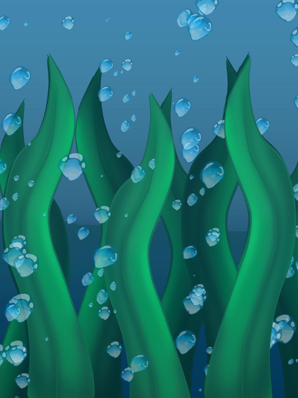 Bajo el agua :v Illust of SteveSanzR2 medibangpaint