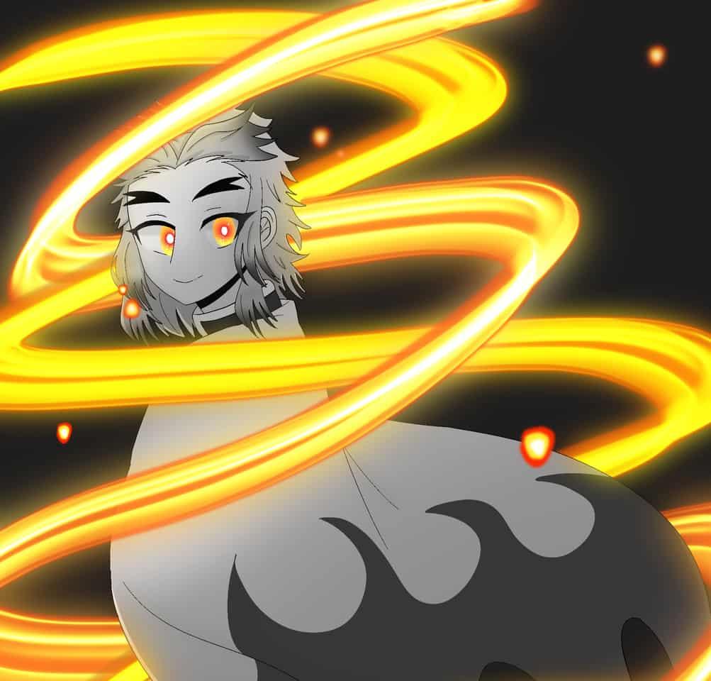フォロワー様90人突破‼︎ Illust of ゆいまる Post_Multiple_Images_Contest RengokuKyoujurou 炎 炎柱 KimetsunoYaiba