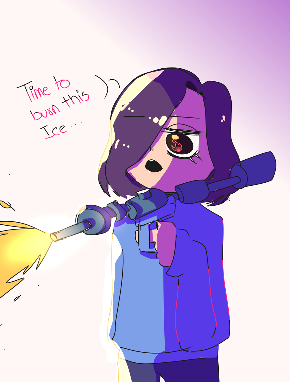 FrEEzE pEEps (read desc if ya want) Illust of Infinite stylez infinitestylez Frozen Medidoneoof Burn