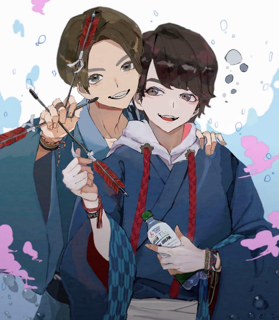 似顔絵って難しいね… Illust of さかしょうどん original Japanese_style kimono