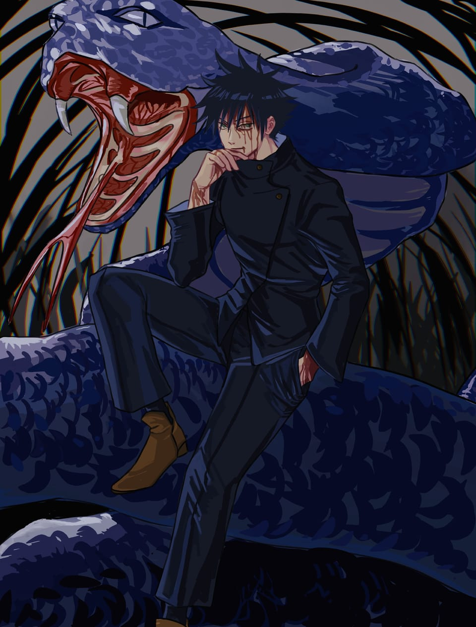 Illust of DFKai-SB JujutsuKaisenFanartContest