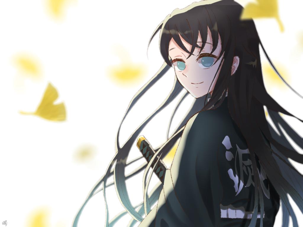 「ありがとう」 Illust of ぽちわらび medibangpaint KimetsunoYaiba TokitouMuichirou 銀杏
